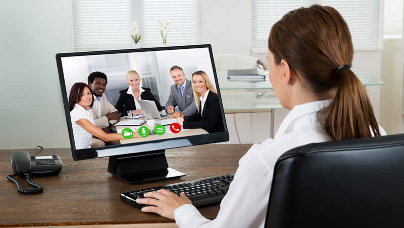 Can video conferencing lower your carbon footprint